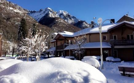 résidence des 3 césars Aulus hiver