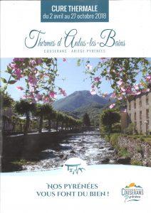 Brochure 2018 Cure Thermale aux Thermes d Aulus les Bains